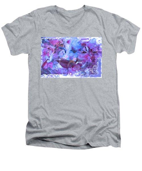 Wings Of Joy Men's V-Neck T-Shirt