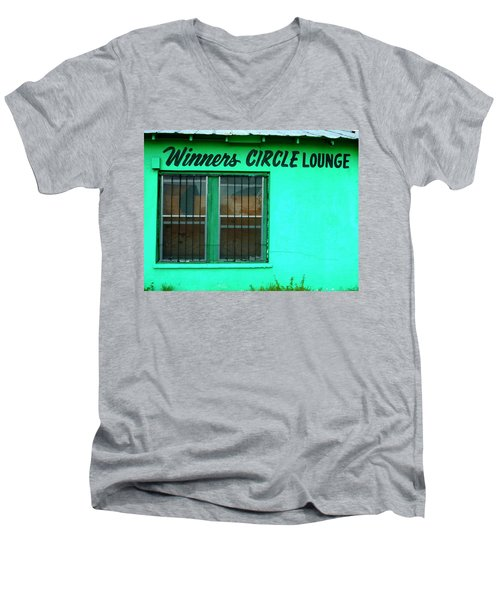 Winner's Circle Lounge Men's V-Neck T-Shirt