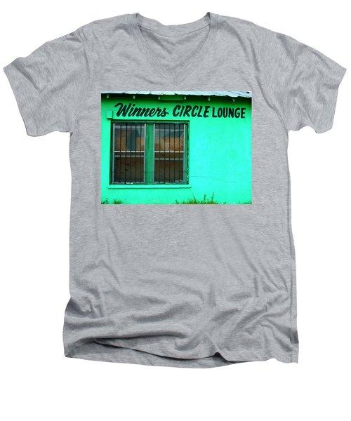 Winner's Circle Lounge Men's V-Neck T-Shirt
