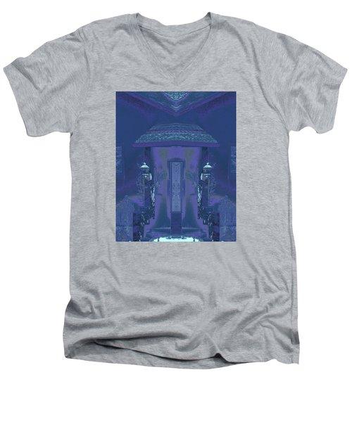 Winter Dusk Homecoming Men's V-Neck T-Shirt
