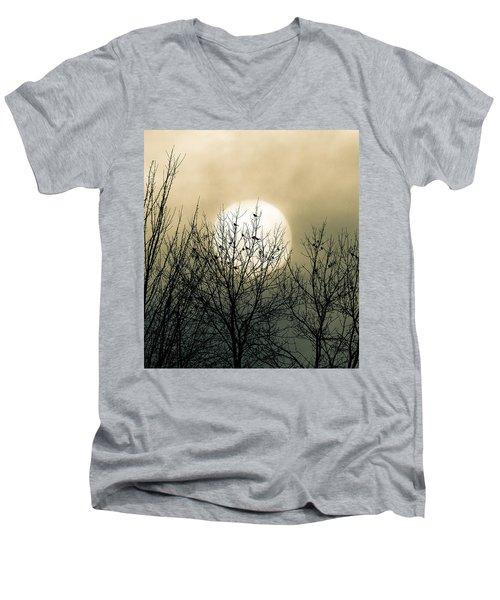 Winter Into Spring Men's V-Neck T-Shirt