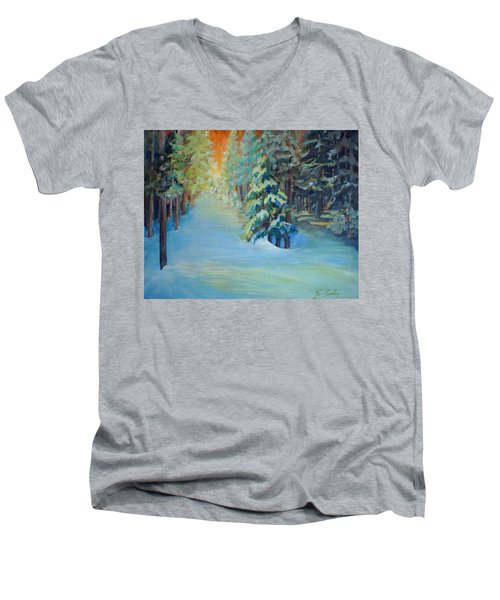 A Road Less Travelled Men's V-Neck T-Shirt