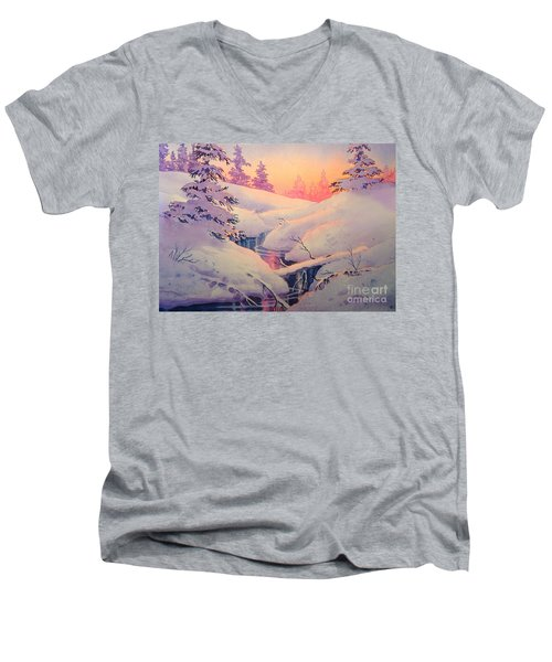 Winter Sun Men's V-Neck T-Shirt