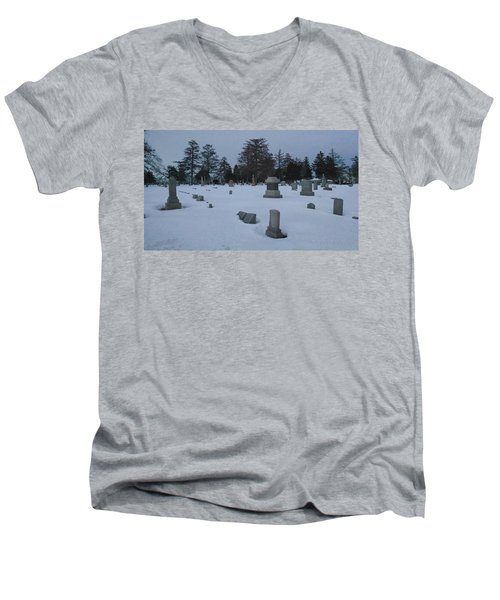 Winters Rest Men's V-Neck T-Shirt