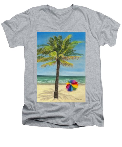Wish I Was There Men's V-Neck T-Shirt