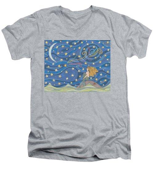 Wishing Men's V-Neck T-Shirt