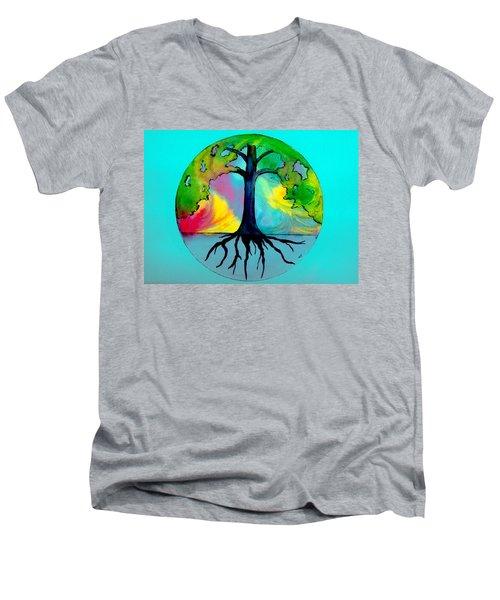 Wishing Tree Men's V-Neck T-Shirt