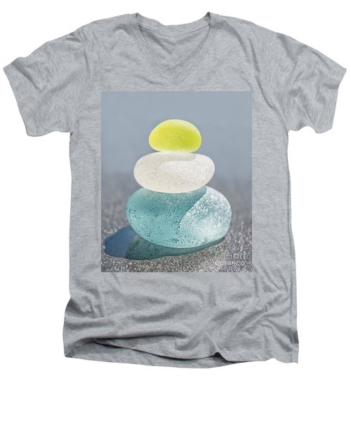 With A Twist Men's V-Neck T-Shirt