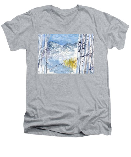 Without Borders Men's V-Neck T-Shirt