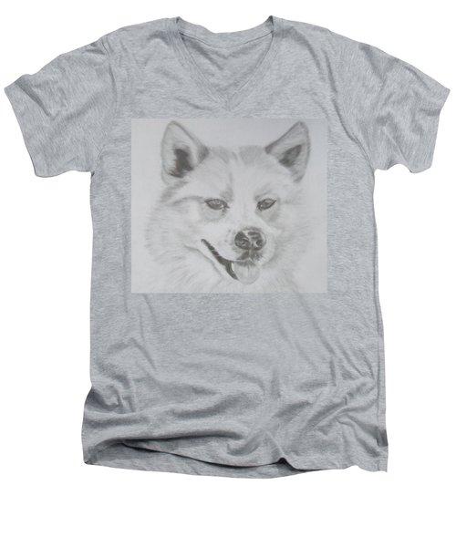 Wolf The Husky Men's V-Neck T-Shirt