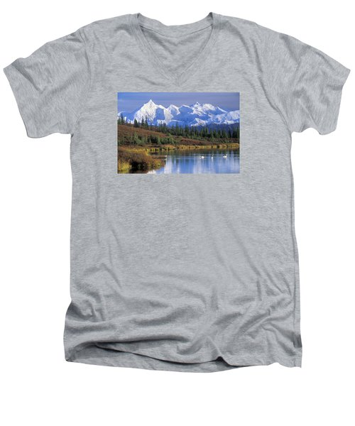 Wonder Lake 2 Men's V-Neck T-Shirt