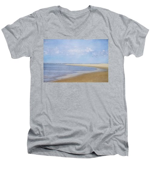 Wonderful World Men's V-Neck T-Shirt