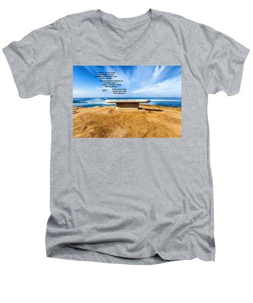 Words Above The Bench Men's V-Neck T-Shirt