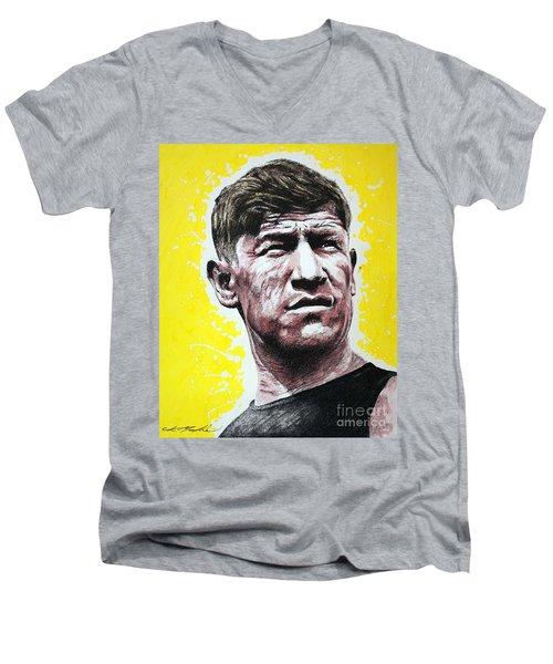 Worlds Greatest Athlete Men's V-Neck T-Shirt