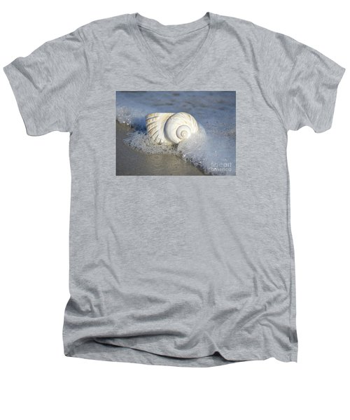 Worn By The Sea Men's V-Neck T-Shirt