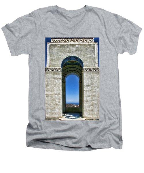 Wrigley's Memorial By Diana Sainz Men's V-Neck T-Shirt
