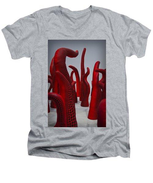 Yayoi Kusama Men's V-Neck T-Shirt