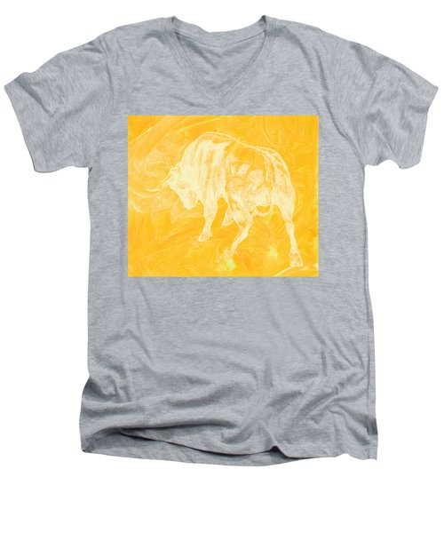 Yellow Bull Negative Men's V-Neck T-Shirt