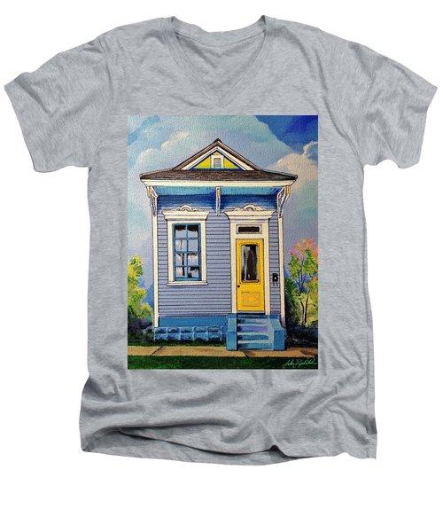 Yellow Door Shotgun  Men's V-Neck T-Shirt