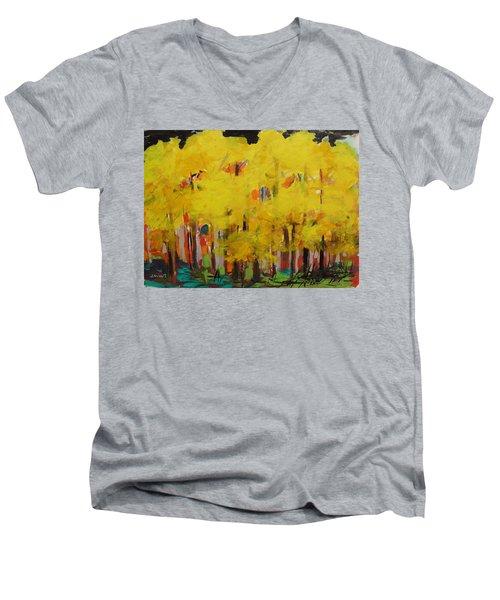 Yellow Refreshment Men's V-Neck T-Shirt