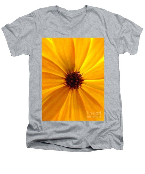 Yellow Splendour Men's V-Neck T-Shirt