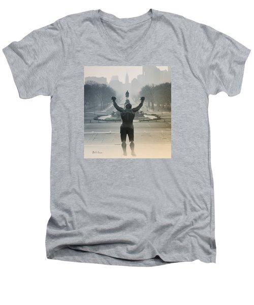 Yo Adrian Men's V-Neck T-Shirt
