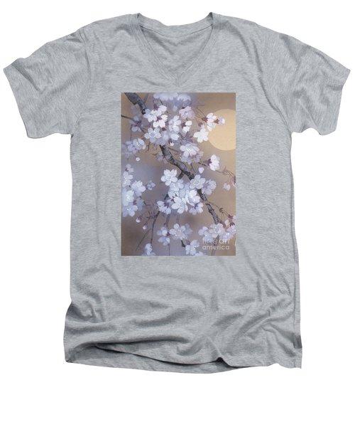 Yoi Crop Men's V-Neck T-Shirt by Haruyo Morita