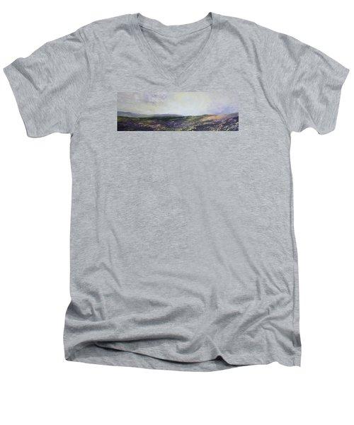 Yorkshire Moors Men's V-Neck T-Shirt