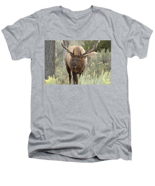 You Looking At Me Men's V-Neck T-Shirt