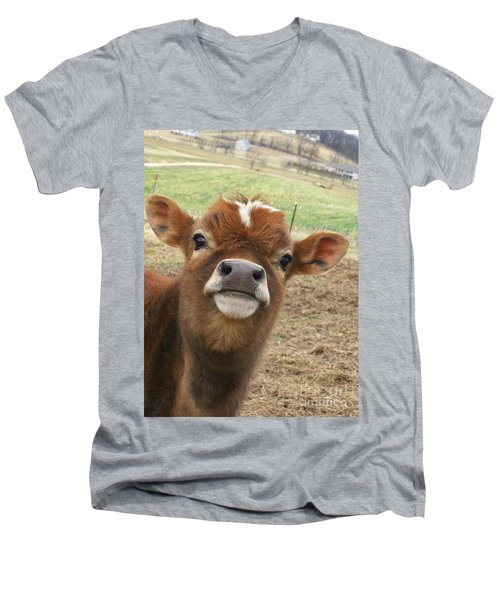 You Looking At Me Men's V-Neck T-Shirt