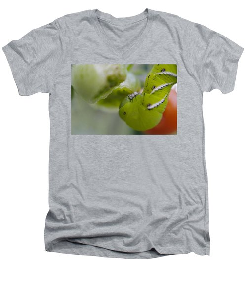 Yum Men's V-Neck T-Shirt