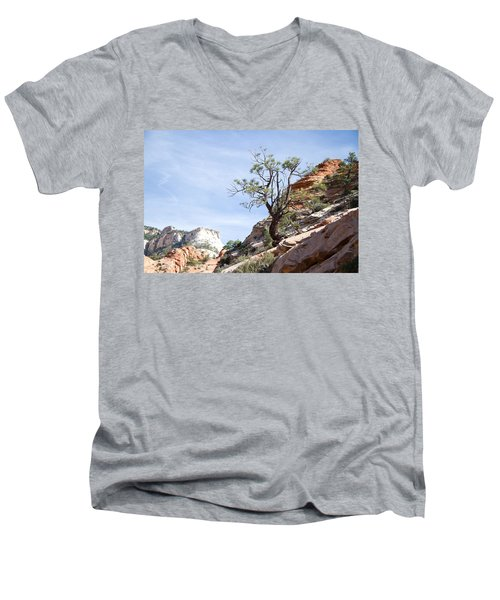 Zion National Park 1 Men's V-Neck T-Shirt