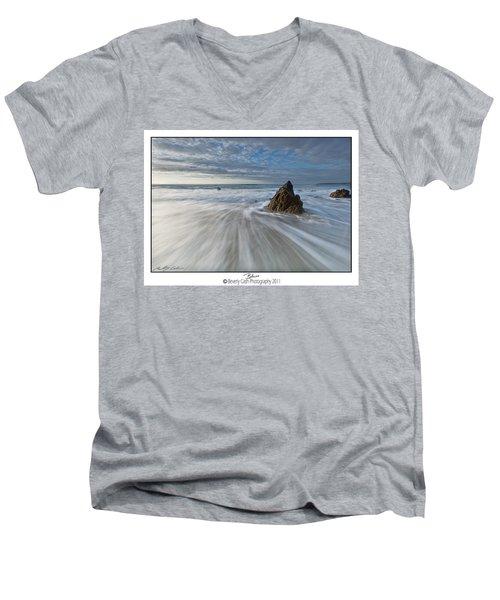 Blues Men's V-Neck T-Shirt