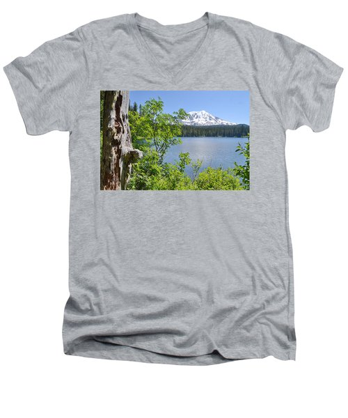 Mount Adams Men's V-Neck T-Shirt