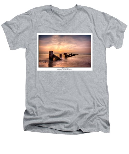 Rich Skies - Abermaw Men's V-Neck T-Shirt