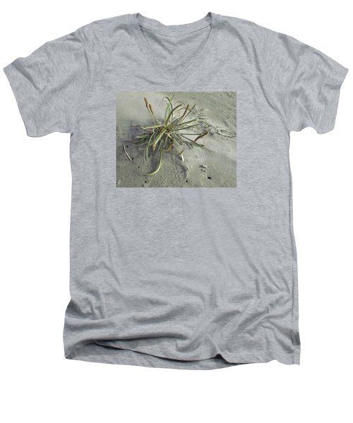 Men's V-Neck T-Shirt featuring the photograph Adaptation by I'ina Van Lawick