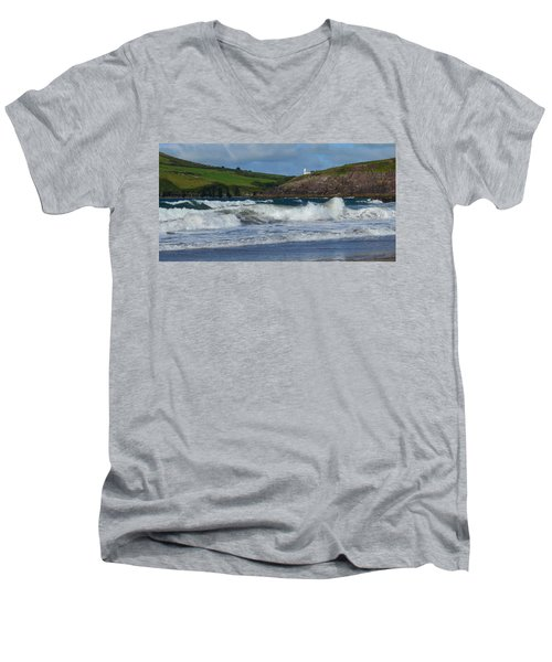 Beenbane  Men's V-Neck T-Shirt by Barbara Walsh