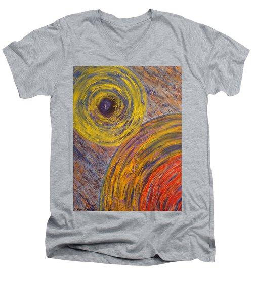 Centrifugal Whirls Men's V-Neck T-Shirt