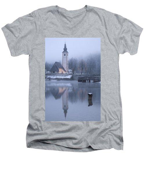 First Dawn Men's V-Neck T-Shirt