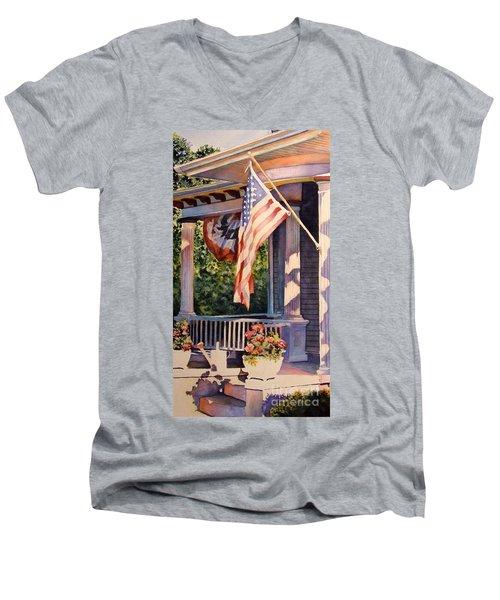 Hot August Night Men's V-Neck T-Shirt