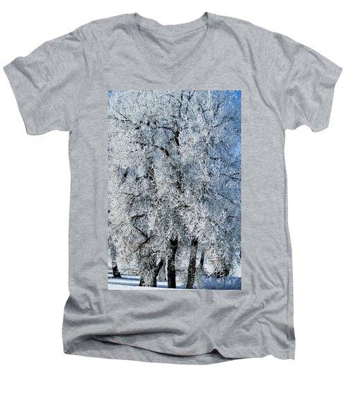 Iced Men's V-Neck T-Shirt