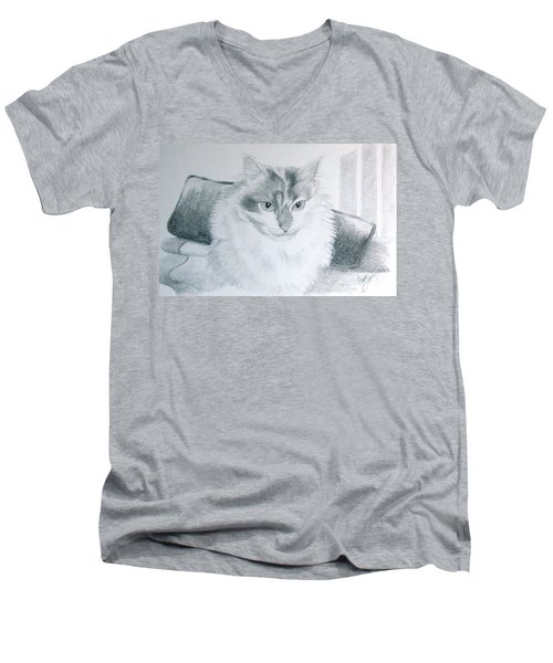 Idget Men's V-Neck T-Shirt