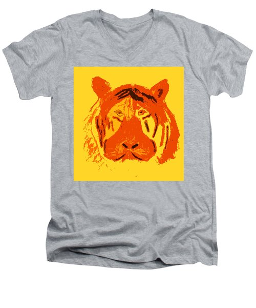 Le Tigre Men's V-Neck T-Shirt
