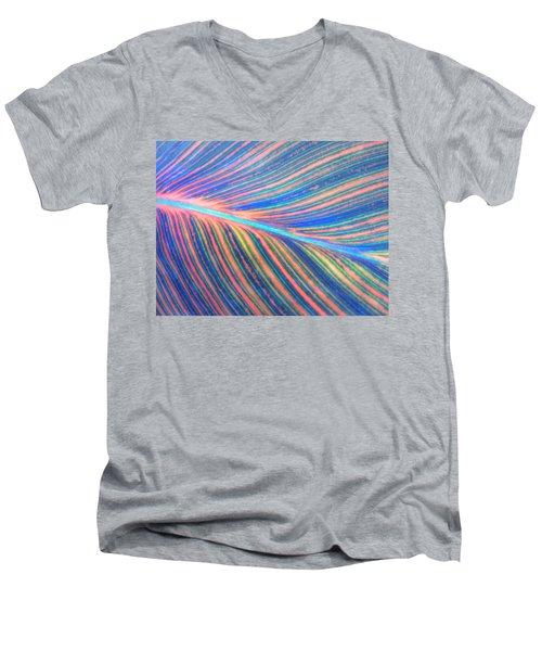 Leaf Colors Filtered Men's V-Neck T-Shirt