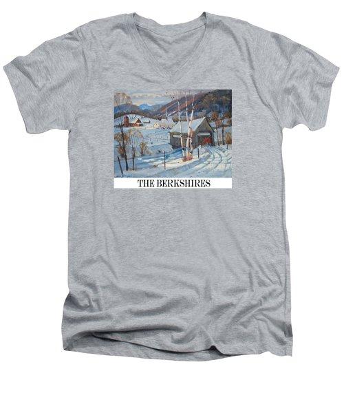 the Berkshires Men's V-Neck T-Shirt