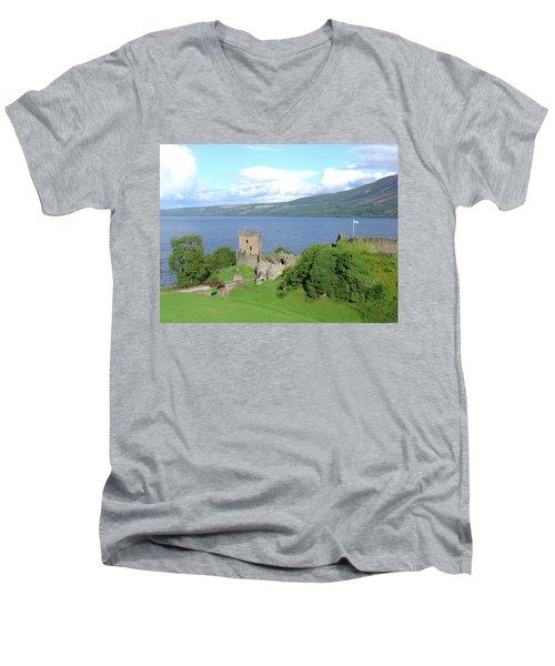 Urquhart Castle Men's V-Neck T-Shirt