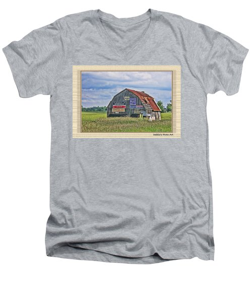 Men's V-Neck T-Shirt featuring the photograph Vote For Me II by Debbie Portwood