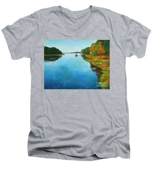 Little River Gloucester Men's V-Neck T-Shirt