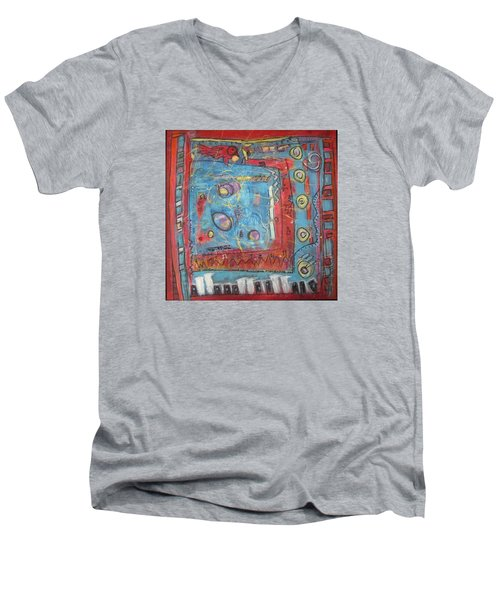 Pour Jean-michel Men's V-Neck T-Shirt