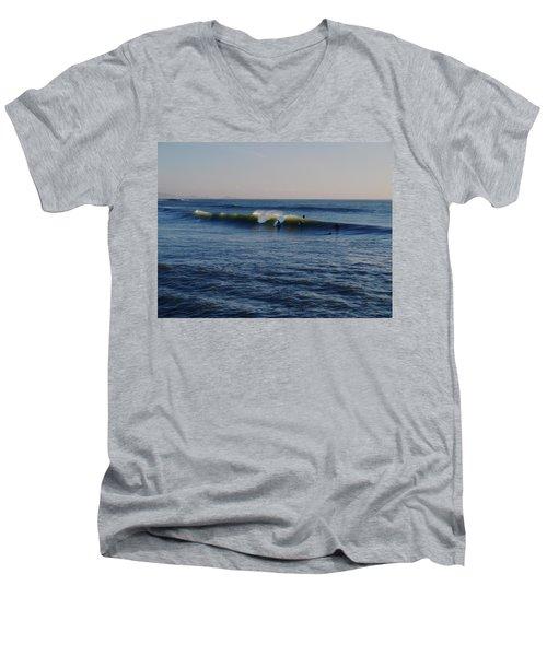 Surfers Make The Ocean Better Series Men's V-Neck T-Shirt
